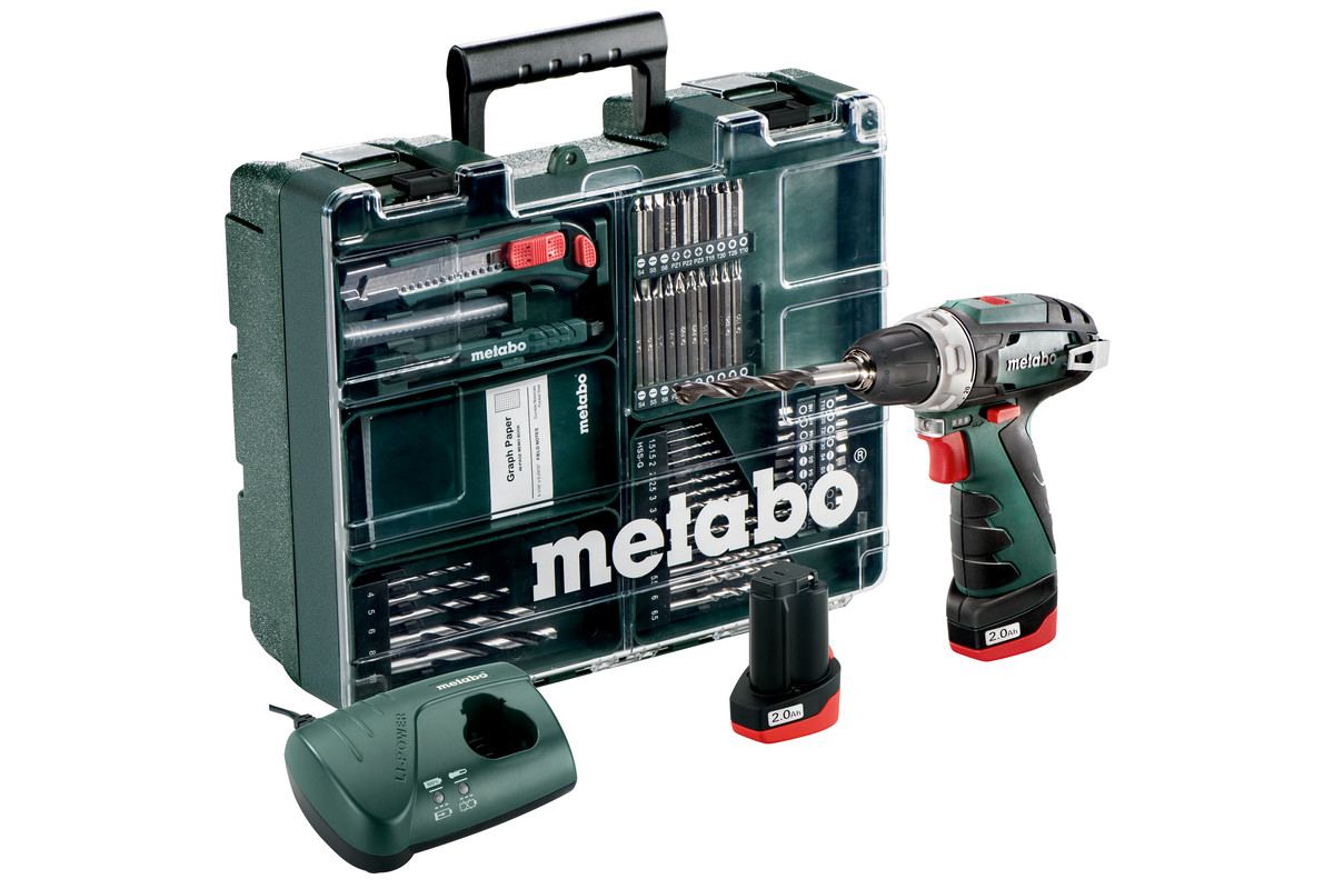 PowerMaxx BS Basic Set (600080880) Akku-Bohrschrauber