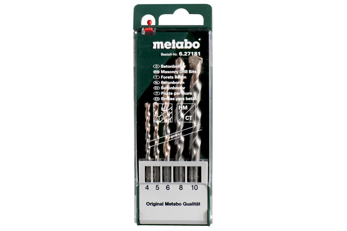 Beton-Bohrerkassette pro 5-teilig (627181000)
