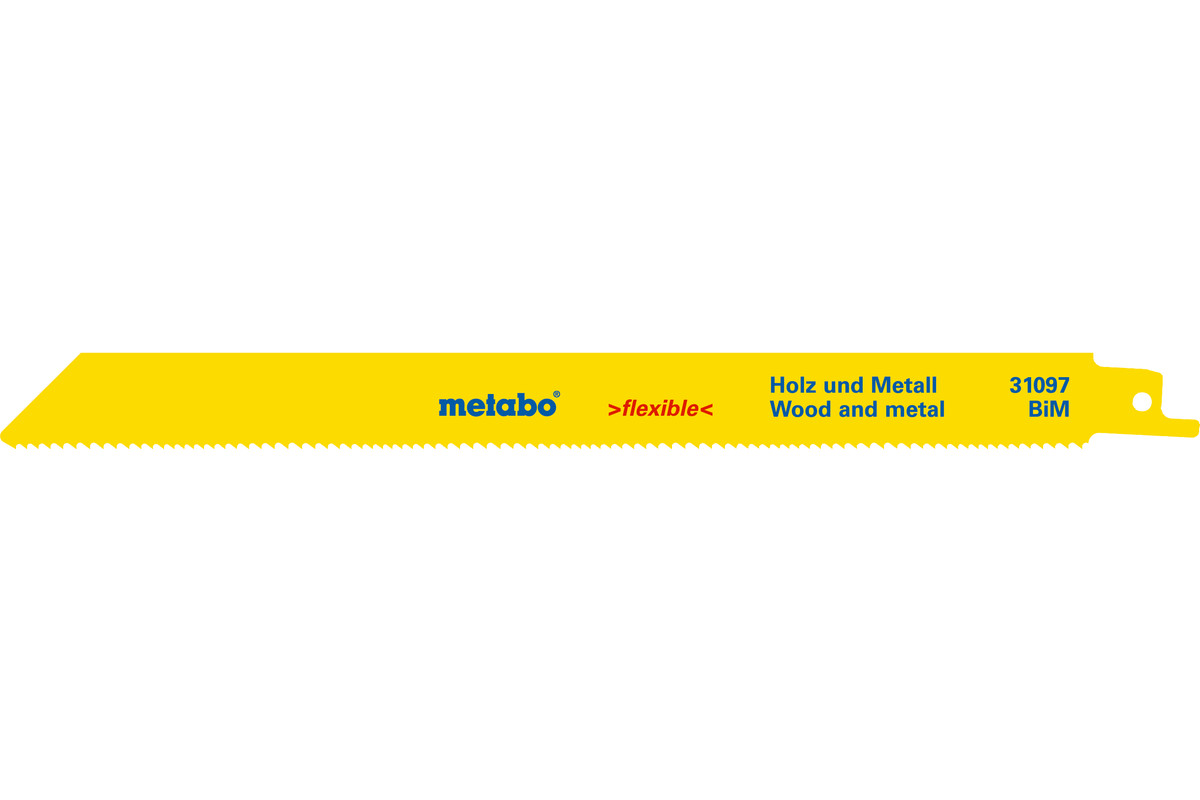 2 Säbelsägeblätter H+M,flexible,225x0,9mm (631097000)