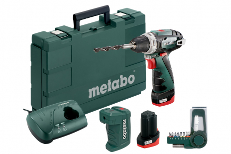 PowerMaxx BS Basic Set (600080910) Akku-Bohrschrauber