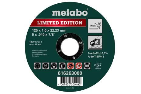Limited Edition  125 x 1,0 x 22,23 Inox, TF 41 (616263000)