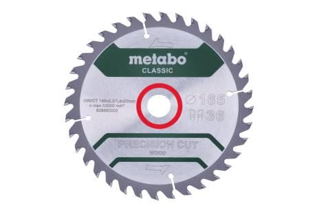 """Sägeblatt """"precision cut wood - classic"""", 165x20 Z36 WZ 15° /B (628662000)"""