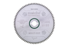 "Sägeblatt ""multi cut - professional"", 254x30, Z80 FZ/TZ, 5° (628093000)"