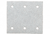 Hook and loop sanding sheets 103 x 115 mm, 6 holes, with hook and loop