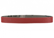 Aluminium oxide sanding belts