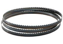 Band saw blades for wood and plastic