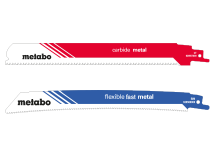 Sabre saw blades for metal