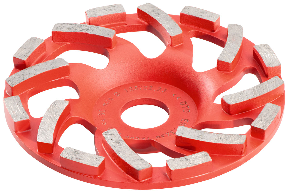 "Diamond cup grinding wheel concrete ""professional"" Ø 125 mm (628205000)"