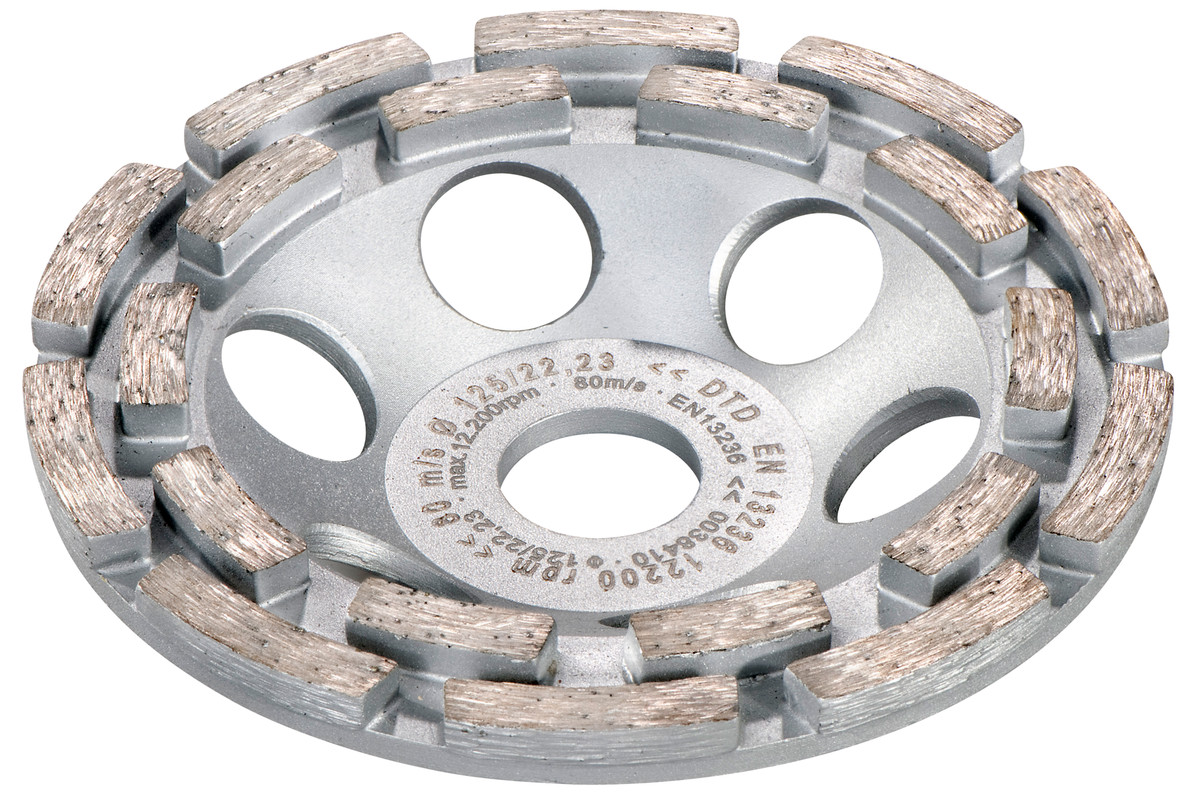 "Diamond cup grinding wheel concrete ""classic"" Ø 125 mm (628209000)"