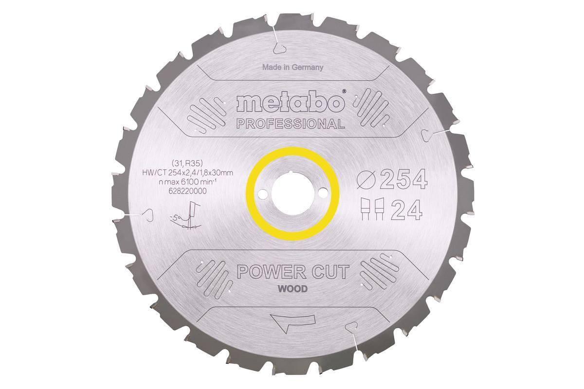 Circular saw blade HW/CT 250 x 30, 24 WZ 3° neg. (628013000)