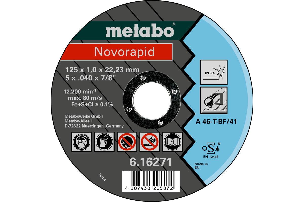 Novorapid 125x1.0x22.23 inox, TF 41 (616271000)