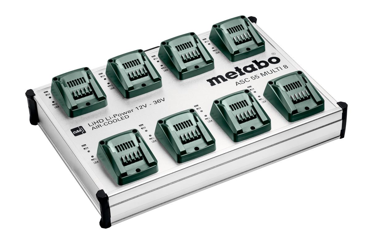 Desktop quick charger ASC 55 MULTI 8, 12-36V, EU (627093000)