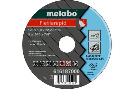 Flexiarapid 125x1.0x22.23 Inox, TF 41 (616187000)
