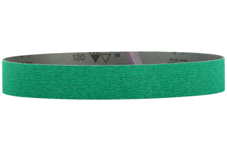 10 Sanding belts 40 x 760 mm, P80, CER, RBS (626309000)