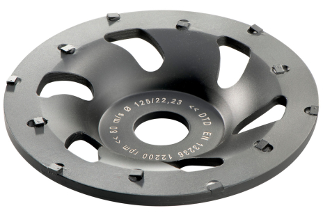 """PCD cup grinding wheel """"professional"""" Ø 125 mm (628208000)"""