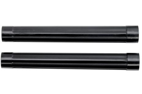 2 Suction pipes, Ø 58mm, 0.4m long, plastic (630867000)