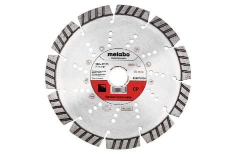 "Diamond cutting disc 180x22.23mm, ""CP"", concrete ""professional"" (628573000)"