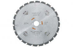 Circular saw blade HW/CT 254 x 30, 24 WZ 5° (628220000)