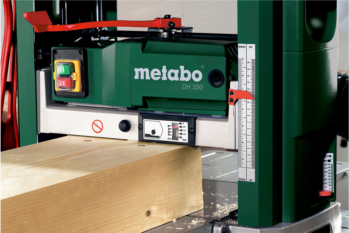 Dh 330 0200033019 Bench Thicknesser Metabo Power Tools