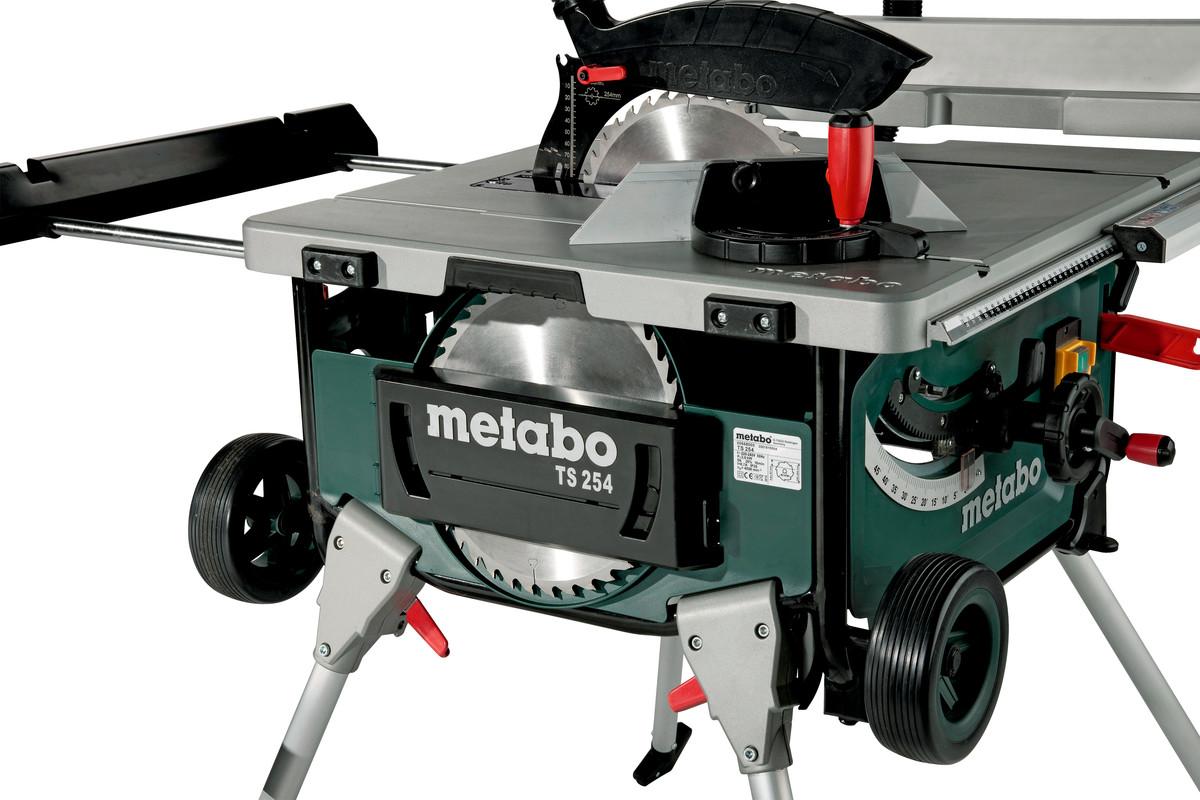 Ts 254 600668190 Table Saw Metabo Power Tools
