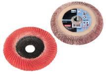 Accessoires pour meuleuses d'angle à tête plate