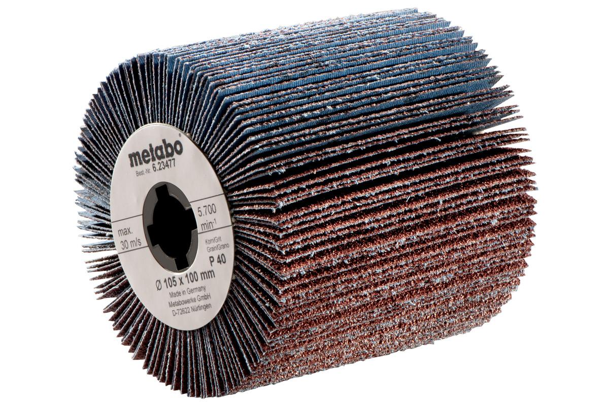Lamellenschuurrol 105x100 mm, P 40 (623477000)
