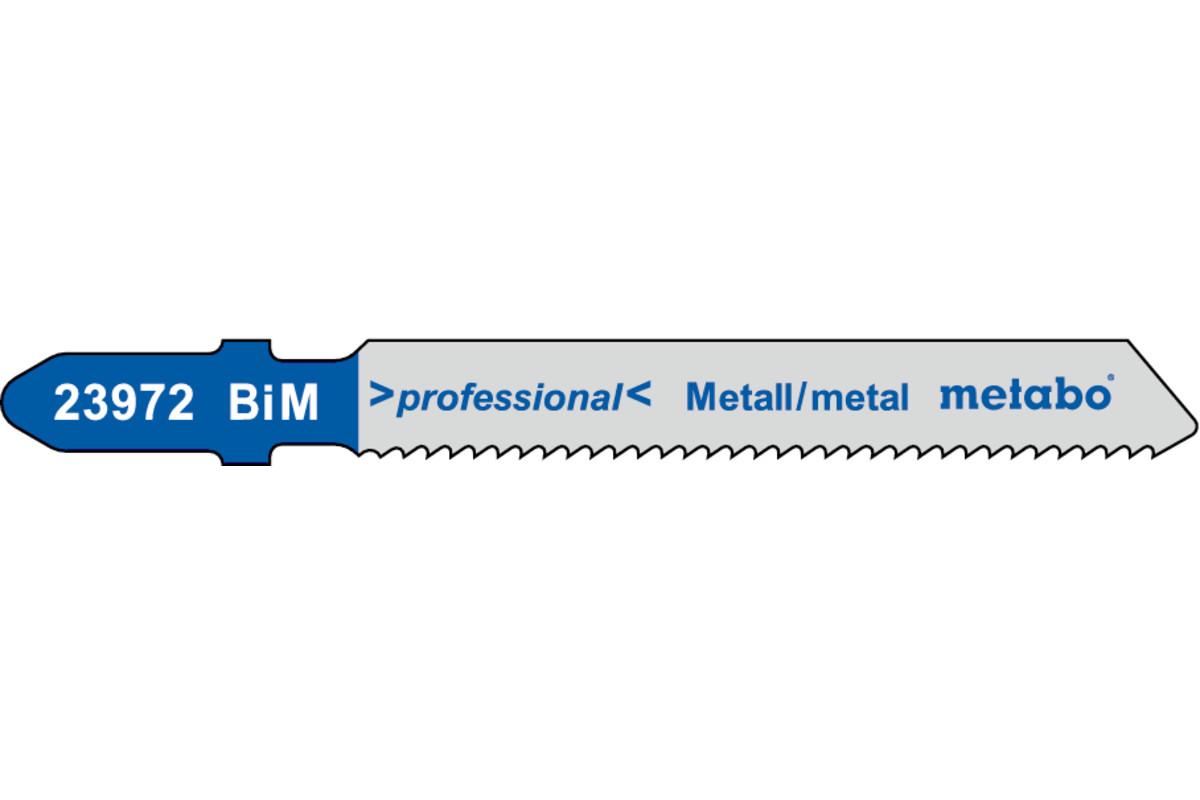 5 decoupeerzaagbladen, metaal, profess. 50/1,5 mm (623972000)
