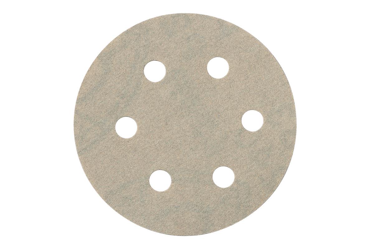 25 feuilles abrasives auto-agrippantes 80 mm, P 240, mét., SXE (624087000)