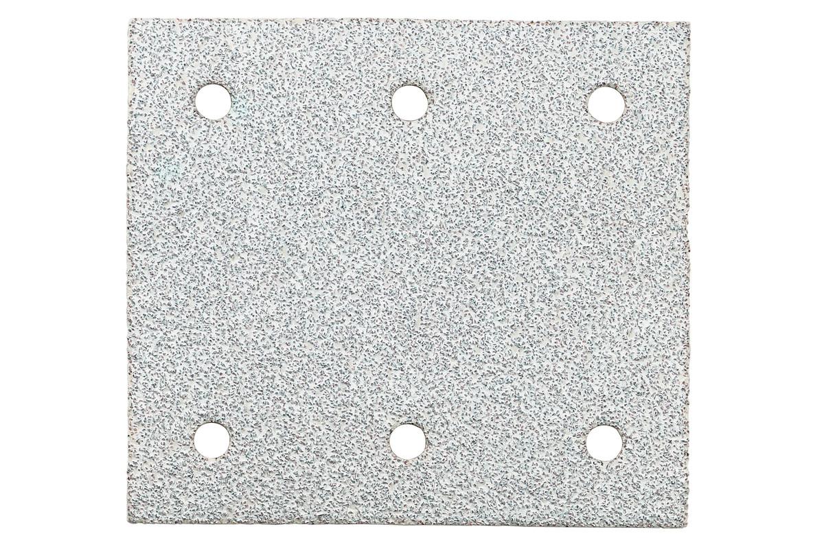 10 feuilles abrasives auto-agrippantes 115 x 103 mm, P 80, peinture, pour ponceuse vibrante (625641000)