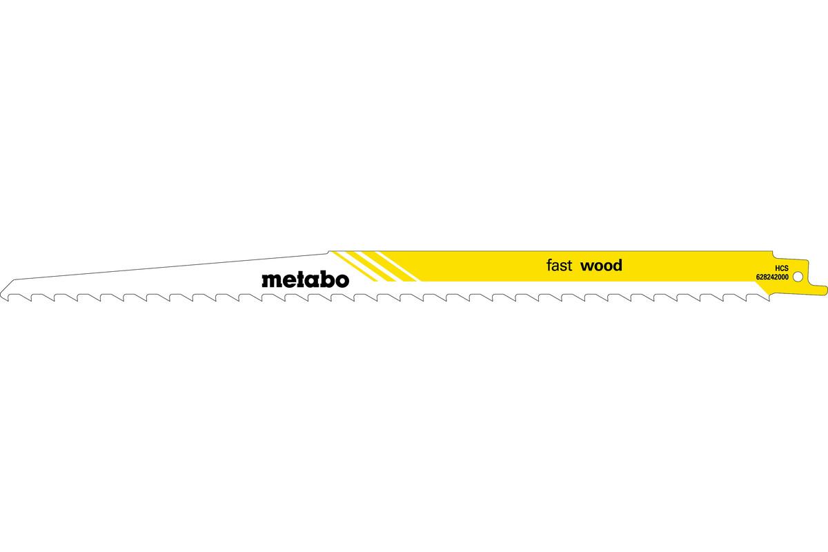 5 lames de scies sabres, bois, classic, 300 x 1,25 mm (628242000)