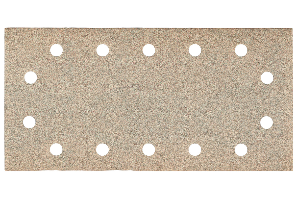 25 feuilles abrasives auto-agrippantes 115 x 230 mm, P 180, peinture, pour ponceuse vibrante (625896000)