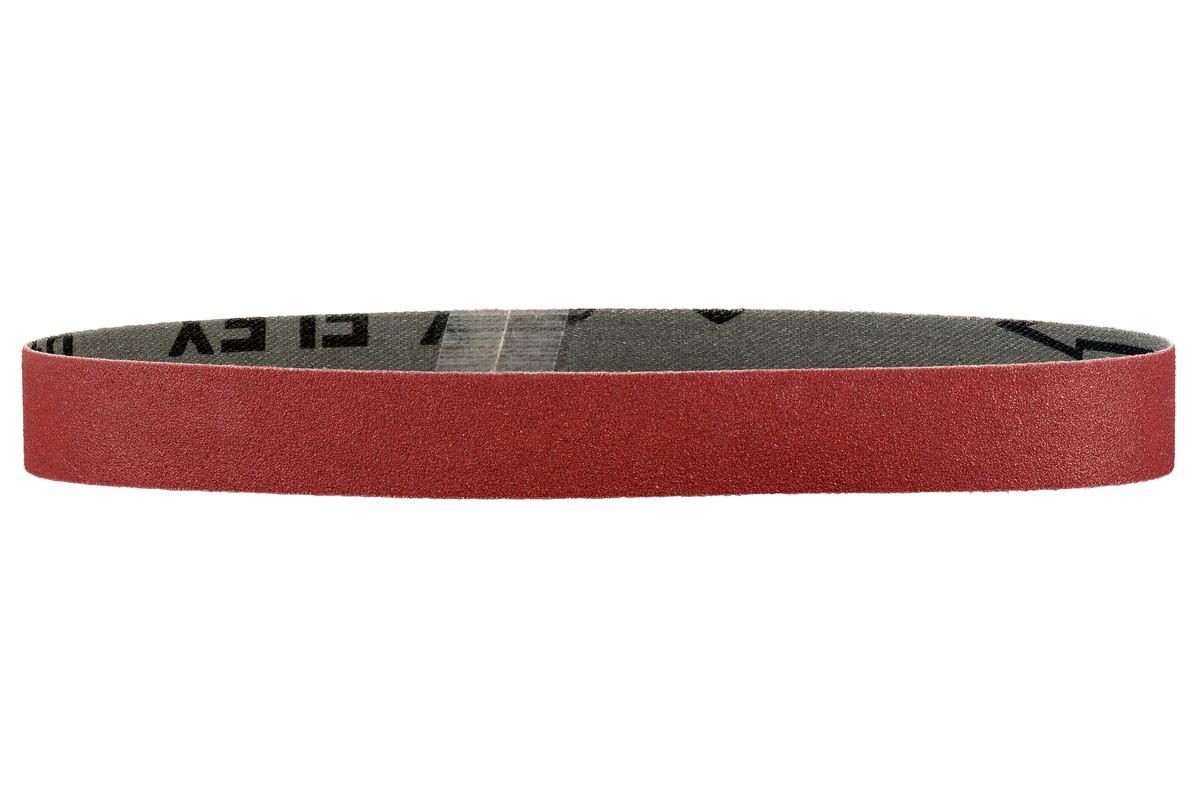 10 bandes abrasives 30 x 533 mm, P400, corindon brun, RBS (626283000)