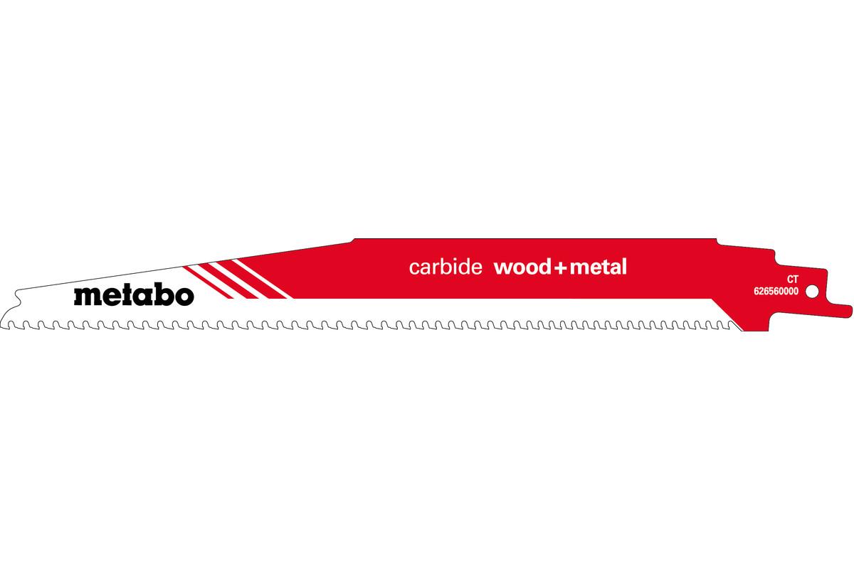 """Reciprozaagblad """"carbide wood + metal"""" 225 x 1,25 mm (626560000)"""