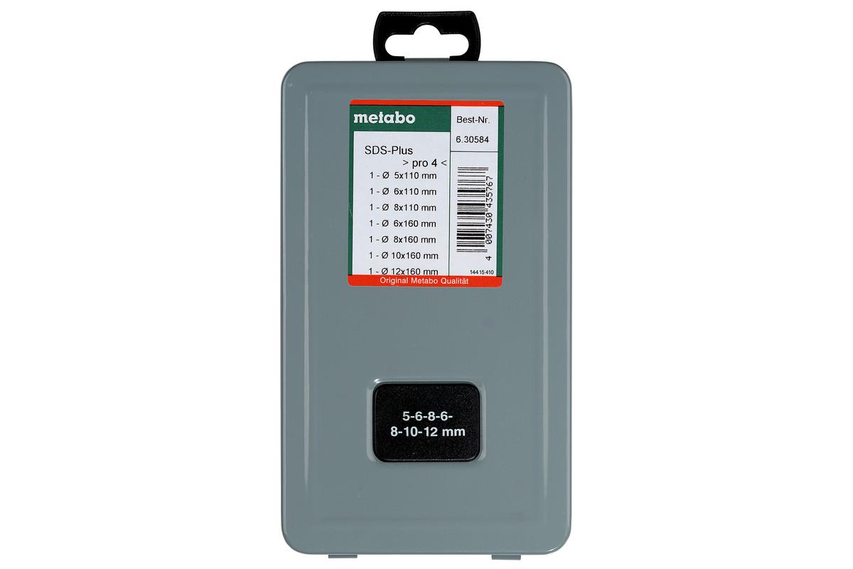 SDS-plus Pro 4-borenset (7-delig) (630584000)