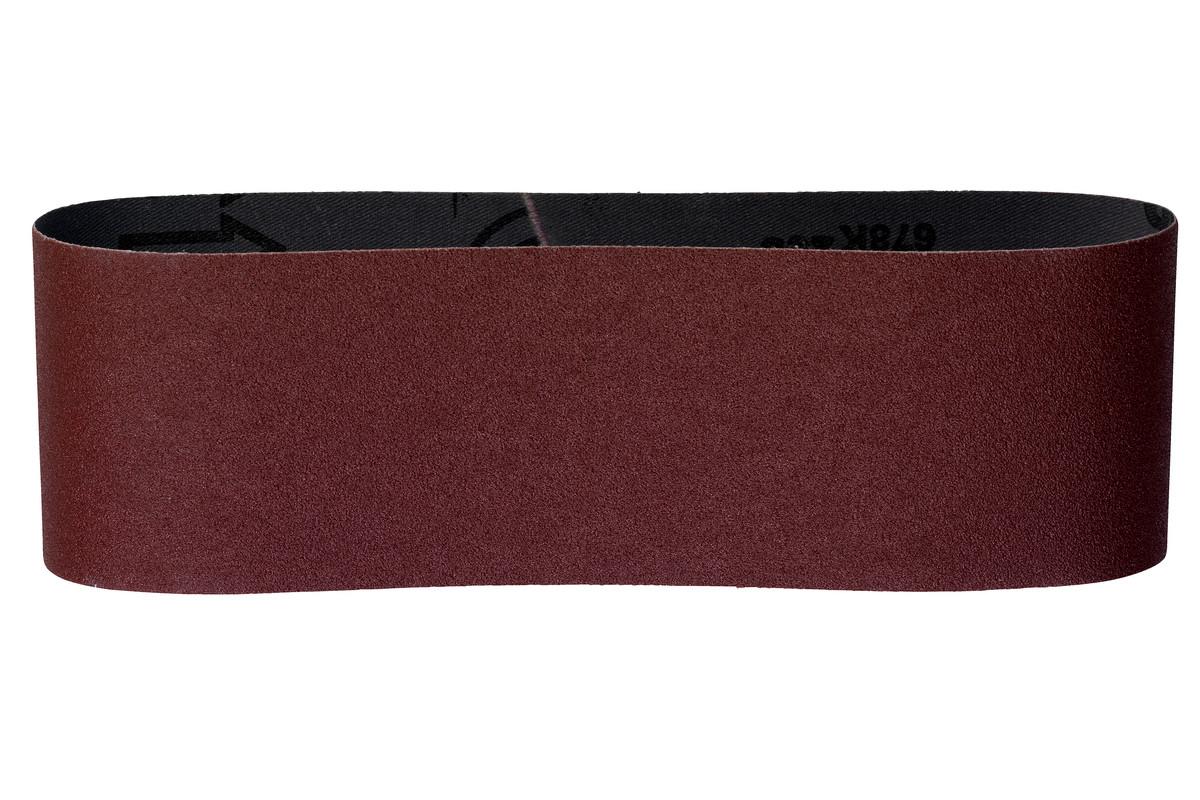 3 bandes abrasives 75 x 533 mm, assort., B+M (625928000)
