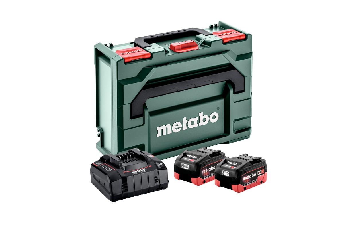 Set de base 2 x LiHD 8,0 Ah + metaBOX 145 (685131000)