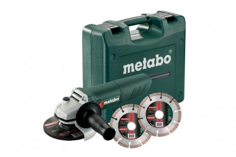 W 850-125 Set (601233510) Meuleuses d'angle