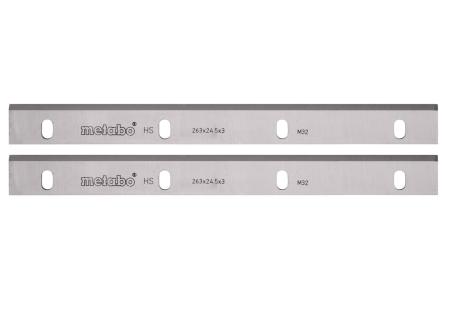 2 lames de rabot HSS 260 mm ADH 1626 (630545000)