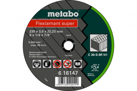 Flexiamant super 115x2,5x22,23 steen, TF 42 (616728000)