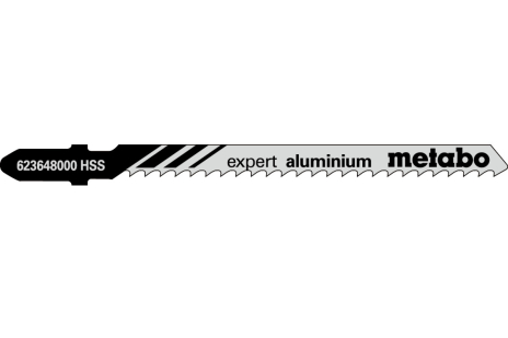 5 lames de scies sauteuses, Al+NE-M, expert, 74/3,0mm (623648000)