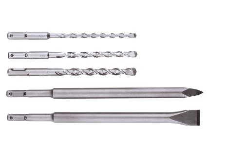 Jeu de forets/burins SDS-plus, 5 pièces (630477000)