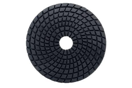 5 disques à polir auto-agrippants diamantés, Ø 100 mm, buff black, pour application sous eau (626146000)