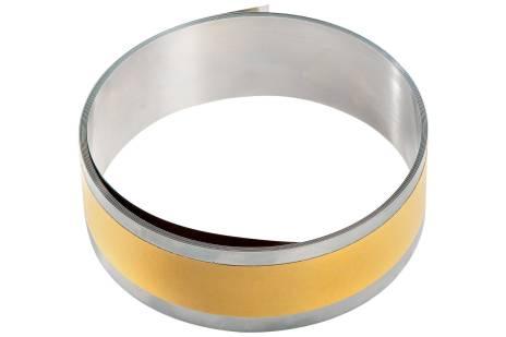 Roestvast stalen kleefband 2500 x 40 x 0,15 mm (626376000)
