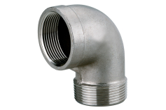 """Hoekaansluiting 1 1/2""""-roestvast staal (0903064838)"""