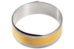 Ruban adhésif acier inoxydable 2500 x 40 x 0,15 mm (626376000)