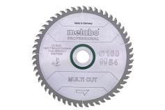 Lame de scie « multi cut - professional », 165x20 Z54 FZ/TZ 5°neg (628293000)