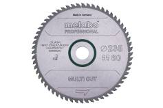 Lame de scie « multi cut - professional », 235x30, Z60 FZ/TZ 5° (628495000)