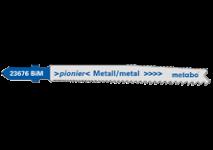 Lames de scie sauteuse pour le métal