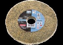 Meules abrasives compactes en fibres