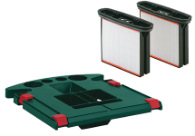 Cassettes de filtres et autres accessoires